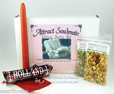 ATTRACT A SOULMATE RITUAL SPELL KIT Wicca Pagan Witch Goth BRING LOVE