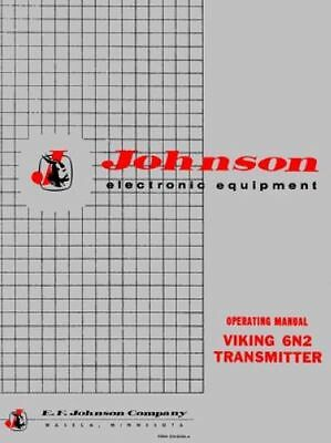 Johnson Viking 6N2 transmitter manual »R²