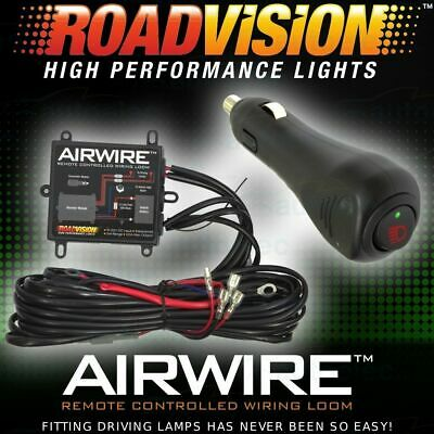 Airwire Remote Control Wiring Kit Harness Driving Light Lights Lamp Suit Narva