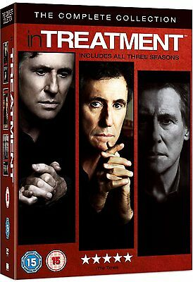 Intreatment In Treatment 1-3 Complete Hbo Collection Season1 2 3 Dvd Englisch