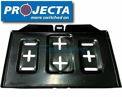 Projecta Mbt200 Universal Large Metal Battery Tray Dual Kit Suite N70Z Agm Gel