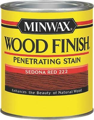 New Minwax 22220 Sedona Red Interior Oil Based Wood Finish Stain 1596774