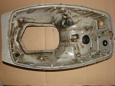 EVINRUDE Mod. 15 1984 Engine Cover Lower Unterteil Motorhaube 0388887  gebr.