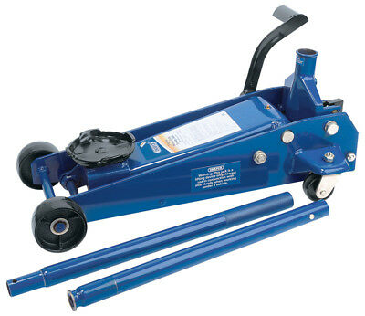 Heavy Duty 3 Ton Garage Trolley Floor Jack Car Caravan Van 4x4 Jeep Lift New
