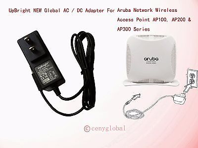 Global AC Adapter For Aruba AP-105 Wireless Access Point DC Power Supply Charger