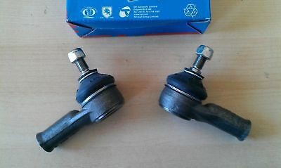 TRACK TIE ROD END PAIR for FORD ESCORT MK 2 - 1974 to 1980  QH  (Quinton Hazell)