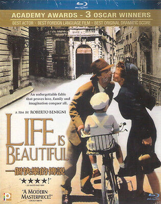 Life is beautiful La Vita E Bella Blu Ray Roberto Benigni Oscar NEW Eng Sub