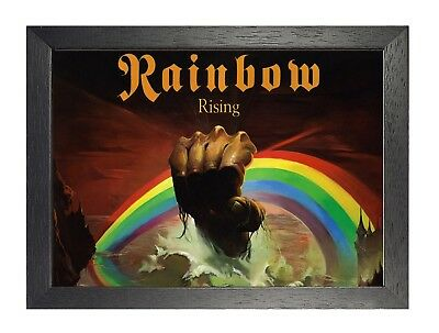 Ritchie Blackmore's Rainbow 2 Hard Rock Heavy Metal Arena Rock Band A3 A4 Poster