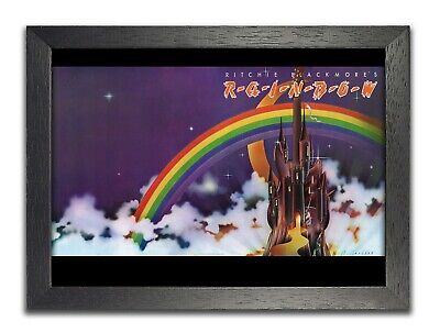 Ritchie Blackmore's Rainbow 3 Hard Rock Heavy Metal Arena Rock Band A3 A4 Poster