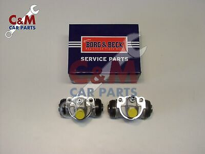 Nissan Micra Rear Wheel Cylinders K10 Pair New Borg & Beck