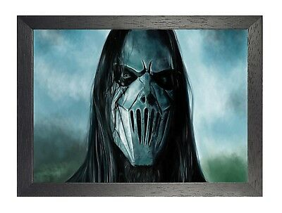 Slipknot 4 American Heavy Metal Band Poster Music Star Scary Mask Photo Taylor
