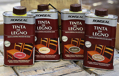 New 250Ml Ronseal Colron Wood Dye Penetrating Stain Mahogany Oak & Antique Pine