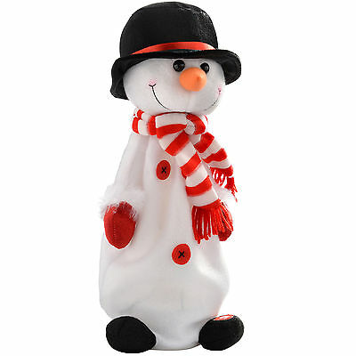 35 cm Jumping and Singing Snowman Christmas Decoration