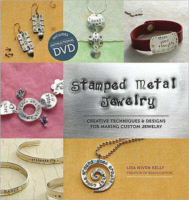 Stamped Metal Jewelry- Kelly