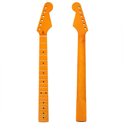Electric Guitar Neck For ST Parts Replacement Maple 22 Fret Fingerboard