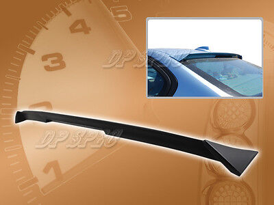 Speedzone Rear Roof Visor With Bracket Civic 12-15  4dr 2nd Gen Big