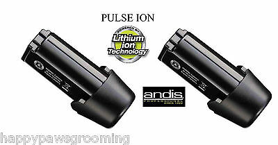 2 -REPLACEMENT Lithium BATTERY for Andis PULSE Li Ion&SUPRA 120 CORDLESS CLIPPER
