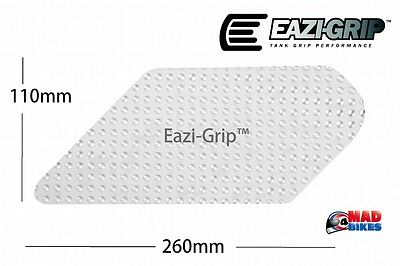 Eazi-Grip Evo Universal Motorcycle Tank Traction Grip Pad X 2  Clear Large Pair