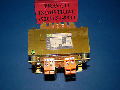 TTH Type EMA 400VA Transformer 220Volt Primary 240Volt Secondary 50/60Hz