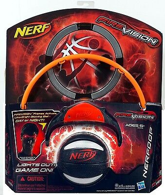Nerf FireVision Sports NERFOOP Hasbro NEW basketball fire vision nerfhoop