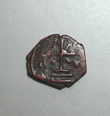 Ancient Byzantine Empire Bronze Coin