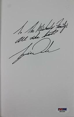 Tiger Woods Authentic Signed First Edition Training A Tiger Book PSA/DNA #X01225