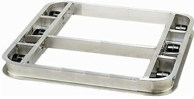 "Tilt Reinforced Pallet Dollie 36""x42"" -- 6 Rollers 4,000# Cap **FREE SHIPPING**"