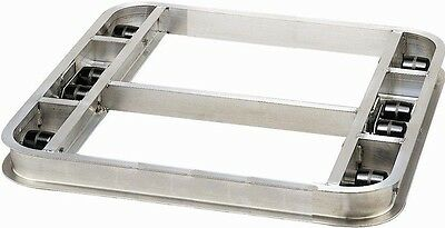 "Tilt Reinforced Pallet Dollie 36""x42"" -- 8 Rollers 6,000# Cap **FREE SHIPPING**"