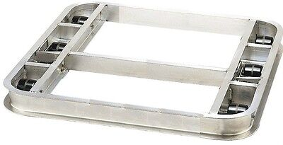 """Flat Reinforced Pallet Dollie 40"""" x 48"""" with 6 Rollers 4000 lb. ****FREE SHIPPIN"""