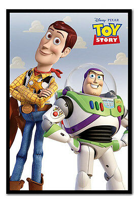 Framed Toy Story Woody and Buzz Lightyear Poster New