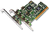 Dynamode 4-Port USB2.0 PCI Networking Card - Wired, 480 Mbit/s, Windows 98/SE/ME