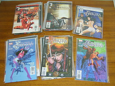 Elektra #1 - 35 Set (Marvel Knights) (2001 Series) 35 Issues (Daredevil)