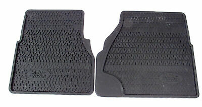 Genuine Land Rover RTC8098AB Front Rubber Floor Mats for Defender
