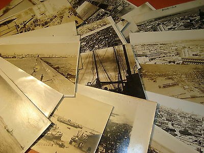 Magnificent Montevideo Uruguay advanced  photo postcard collection 198 different