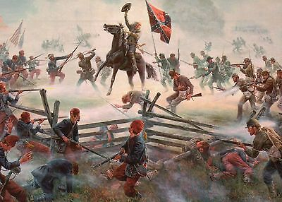 Brigadier General Barksdale Battle of Gettysburg PA, Military Civil War Postcard
