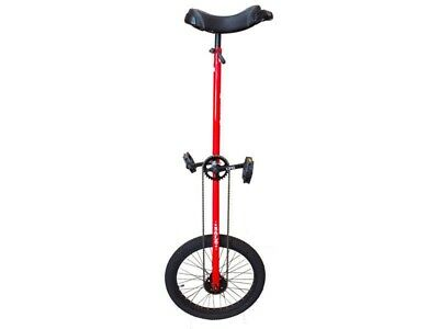 Unicycle 20 inch Tall-E Circus Solo Red By DRS