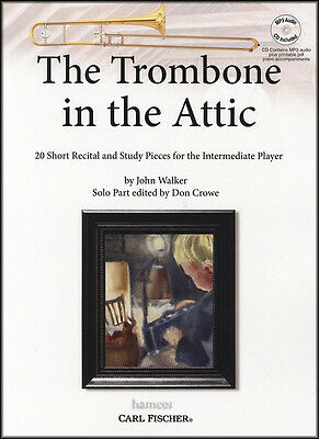 The Trombone in the Attic Sheet Music Book & Play-Along MP3-CD