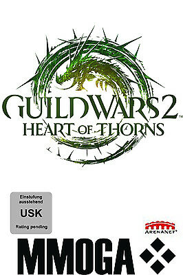 Guild Wars 2 II - Heart of Thorns Addon Key GW2 HoT DLC PC Download Code [EU/DE]