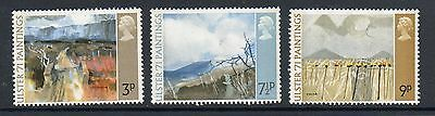 GB 1971 Ulster Paintings unmounted mint set stamps