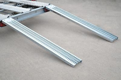 PAIR 226kg Loading Ramps 6ft 1.83m for Trailers Vans Motorbike Non-Slip TE477