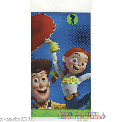 TOY STORY PLASTIC TABLE COVER ~ Disney Pixar Birthday Party Supplies Decorations