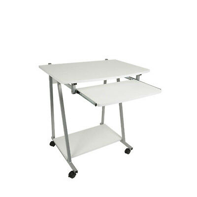 Homestyle Home Office Student Work Station Furniture Computer Desk Table White