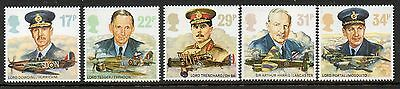 GB 1986 History of The RAF unmounted mint set stamps