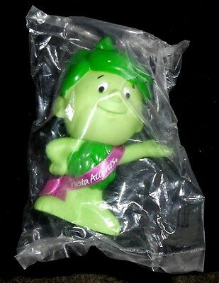 "Pillsbury Green Giant Little Sprout 6½"" Squeezable rubber Doll  - 1996 - New"