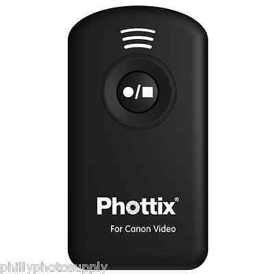 Phottix IR Remote Start/Stop Video Control for Canon -> Free US Shipping