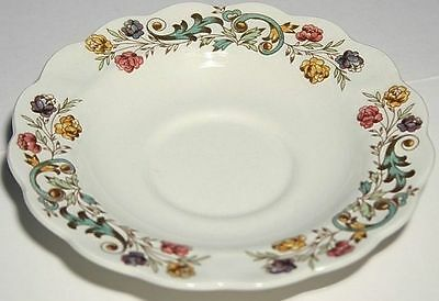 4 Booths China Bayonne Saucers Only