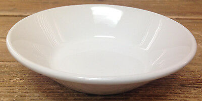 Midwinter Wedgwood Stonehenge England 54718 All White 1 Coupe Cereal Bowl Slant