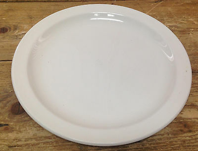 Midwinter Wedgwood Stonehenge England White 54718 All White Smooth Dinner Plate