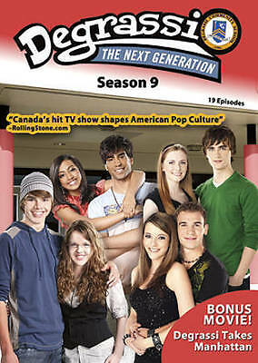 Degrassi The Next Generation ~ Complete Ninth Season 9 Nine ~ NEW 2-DISC DVD SET