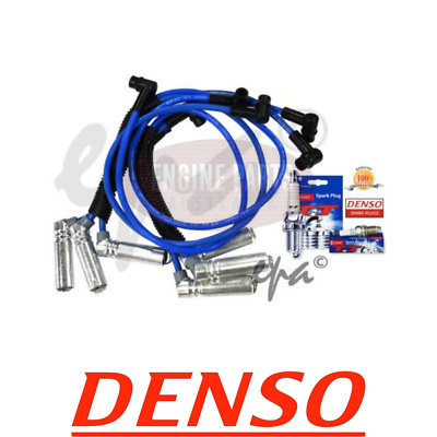 Holden Commodore Vn Vp Vr Vs Vt Vx Vy V6 3.8L Ignition Leads & Denso Spark Plugs